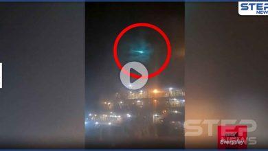 بالفيديو   كرة نارية زرقاء تخترق السماء محيرةً علماء الفلك