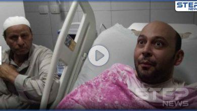 بالفيديو|| لحظة لقاء الطبيب المصري الذي فقد بصره بسبب كورونا بطفله الأول بعد زواج 11 عاماً