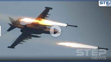 بالفيديو|| للمرة الثانية خلال ساعات.. الطائرات الإسرائيلية تحول مواقع للنظام السوري والحرس الثوري لكتلة لهب