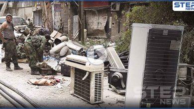 بالفيديو || بهدف الانتقام.. عناصر النظام السوري تحرق وتنهب منازل المدنيين بريفي حلب وإدلب