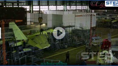 بالفيديو|| الأفعى الروسية.. لقطات تكشف مراحل تصنيع أقوى المقاتلات الروسية المنافسة للأمريكية