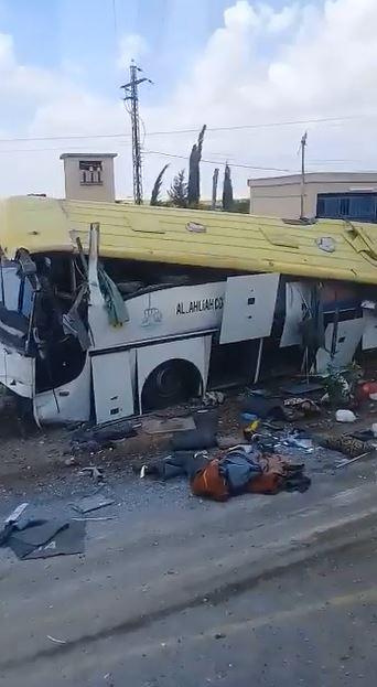 بالفيديو|| 15 قتيل من مقاتلي المعارضة السابقين التابعين لـ الفيلق الخامس المدعوم روسياً بتفجير في درعا