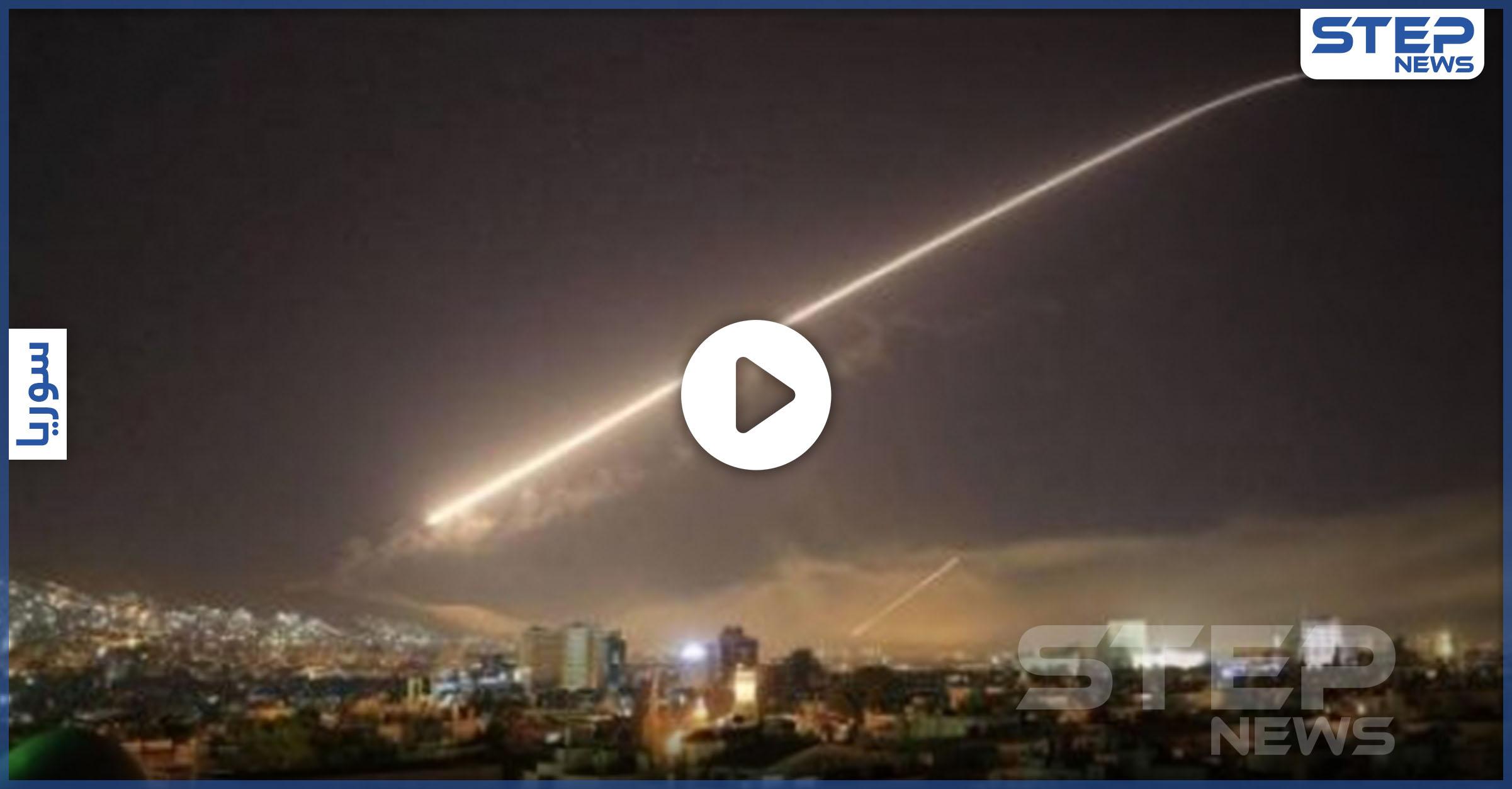 الطائرات الإسرائيلية تقصف مواقع إيرانية بريف حماة..