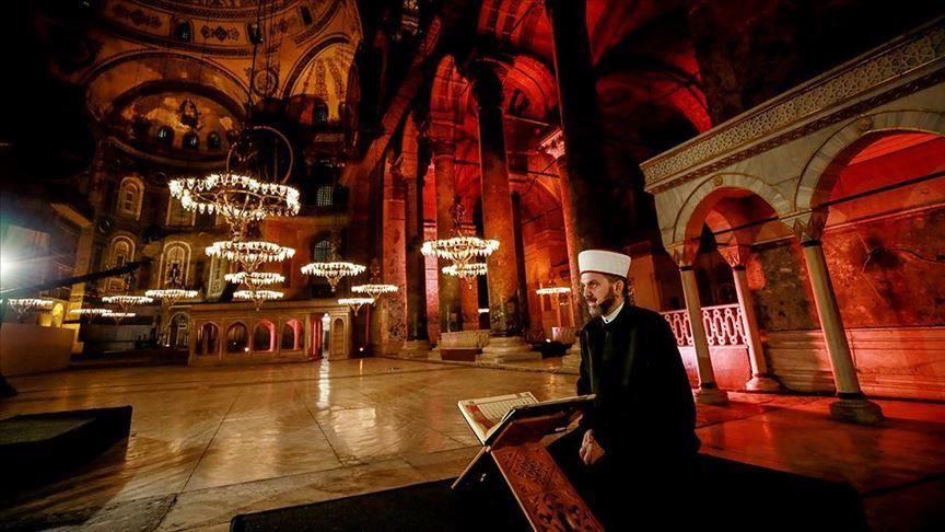 """تلاوة آية قرآنية بمتحف أثري تثير غضب """"أثينا"""" و""""أنقرة"""" ترد"""