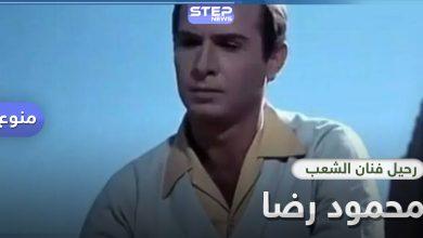 """فنانو مصر ينعون محمود رضا """"فنان الشعب"""".. فمن هو"""
