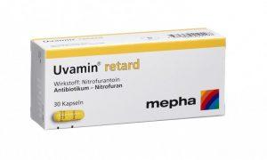 دواء يوفامين ريتارد لعلاج المسالك البولية.. الجرعة والأعراض الجانبية والفعالية