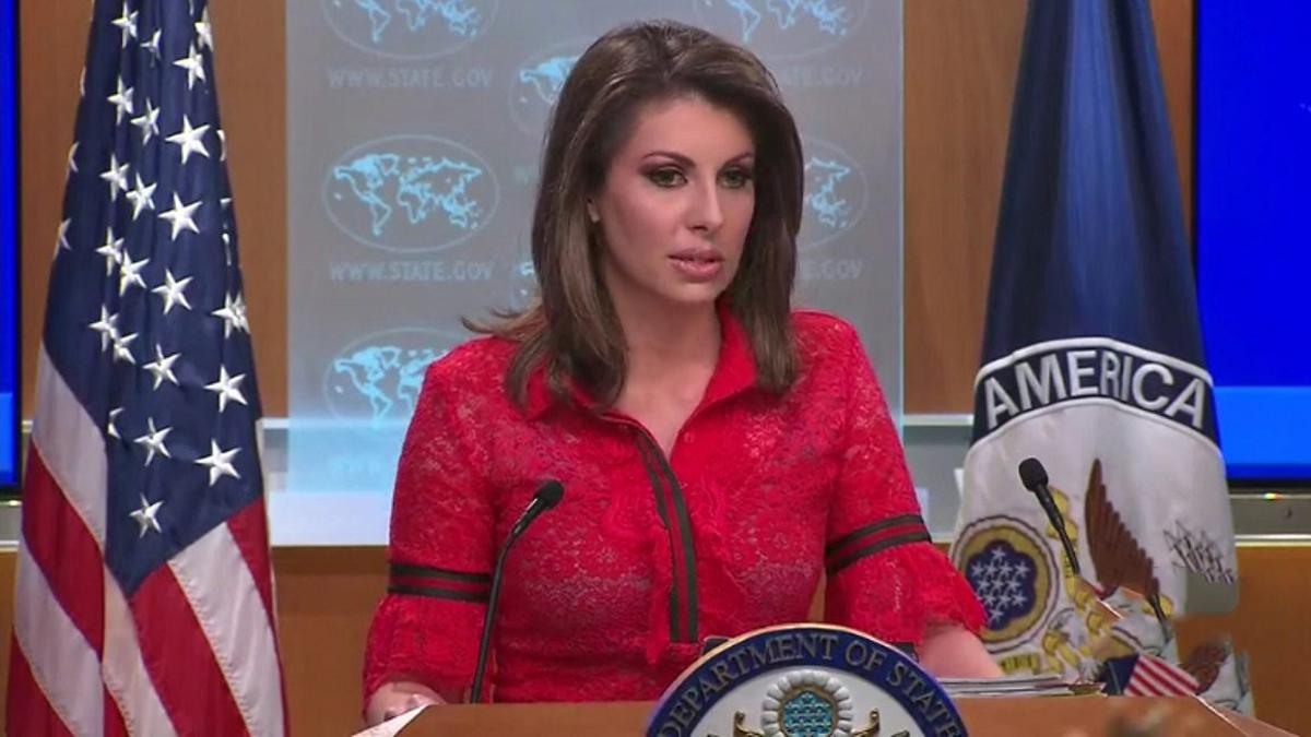 المتحدثة باسم وزارة الخارجية الأميركية، مورغان أورتيغاس