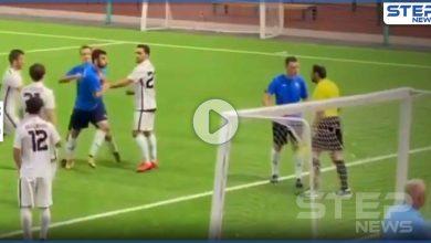 شاهد بالفيديو|| مشهدين نادرين في عالم كرة القدم بوقتٍ واحد