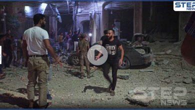 بالفيديو|| روسيا تخرق هدنتها مع تركيا .. غارات توقع قتيل وجرحى في مدينة الباب