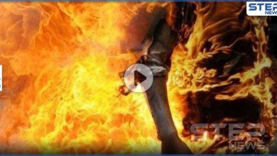 بالفيديو|| جريمة هزّت العراق.. رجل يسكب البنزين على زوجته ويحرقها وناشطون يدعون الحكومة للتحرك