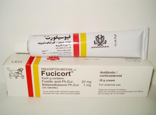مرهم فيوسيكورت Fucicort لمعالجة الالتهابات لجلدية