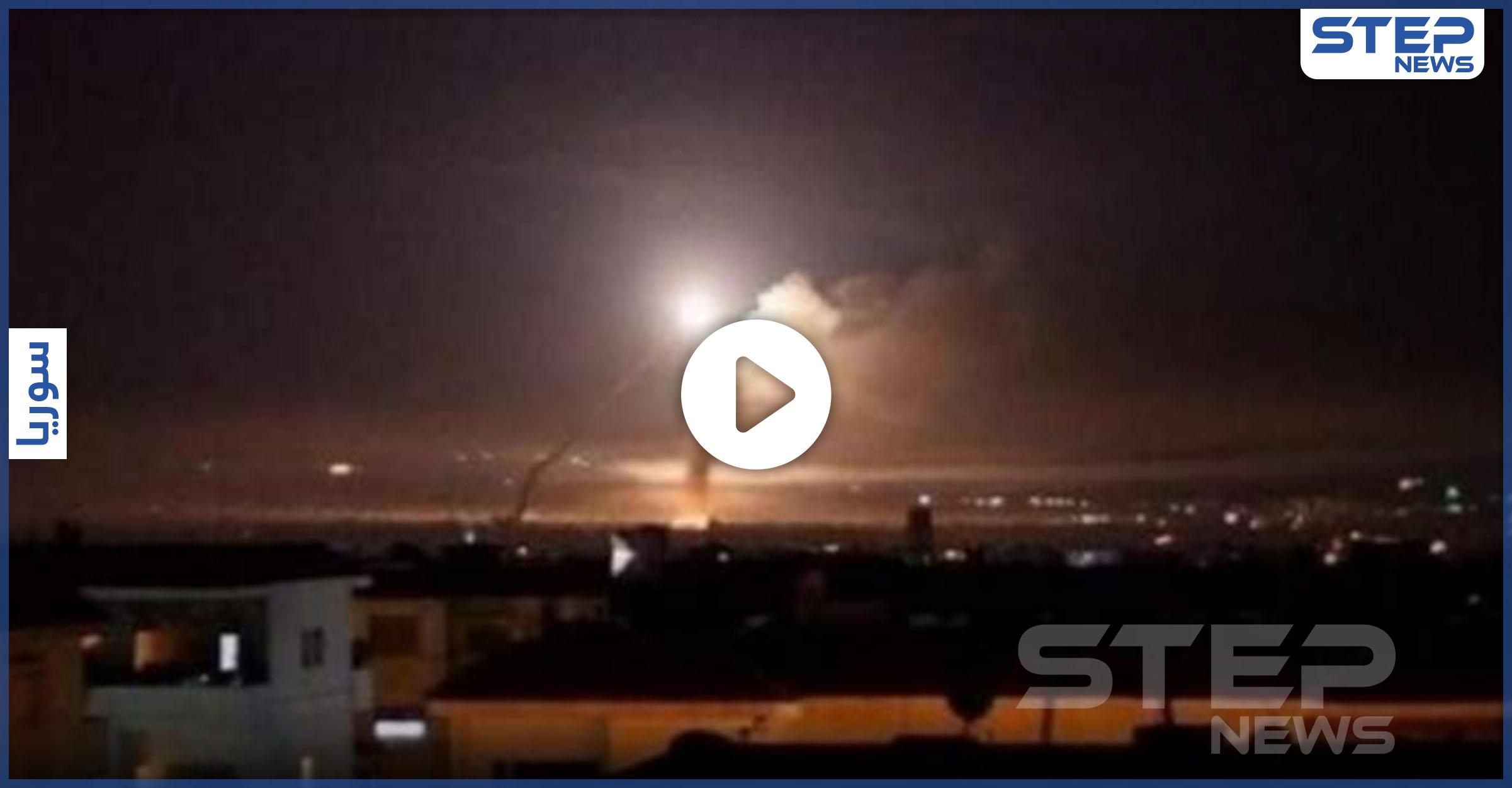غارات إسرائيلية على المواقع الإيرانية في محيط دمشق