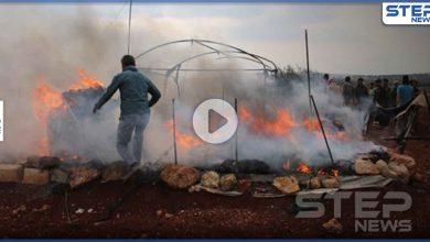 بالفيديو|| ضحايا مدنيون بانفجار مستودع لتصنيع الأسلحة قرب مخيم العرموطة بريف حلب
