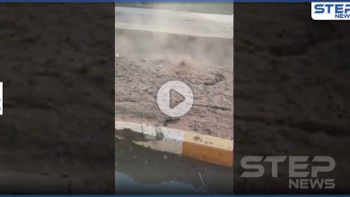 بالفيديو|| خروج ألسنة حرارية من باطن الأرض في بغداد.. وخبير يفسر