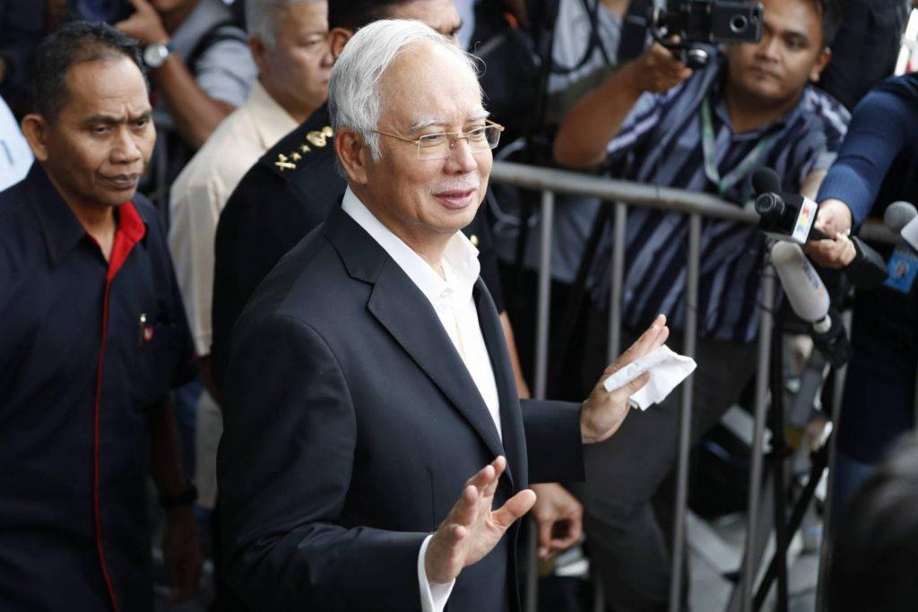 رئيس وزراء ماليزيا الأسبق، نجيب عبد الرزاق