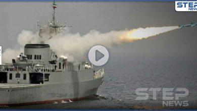 بالفيديو|| إيران تفجر حاملة طائرات أمريكية في الخليج.. والبحرية الأمريكية ترّد