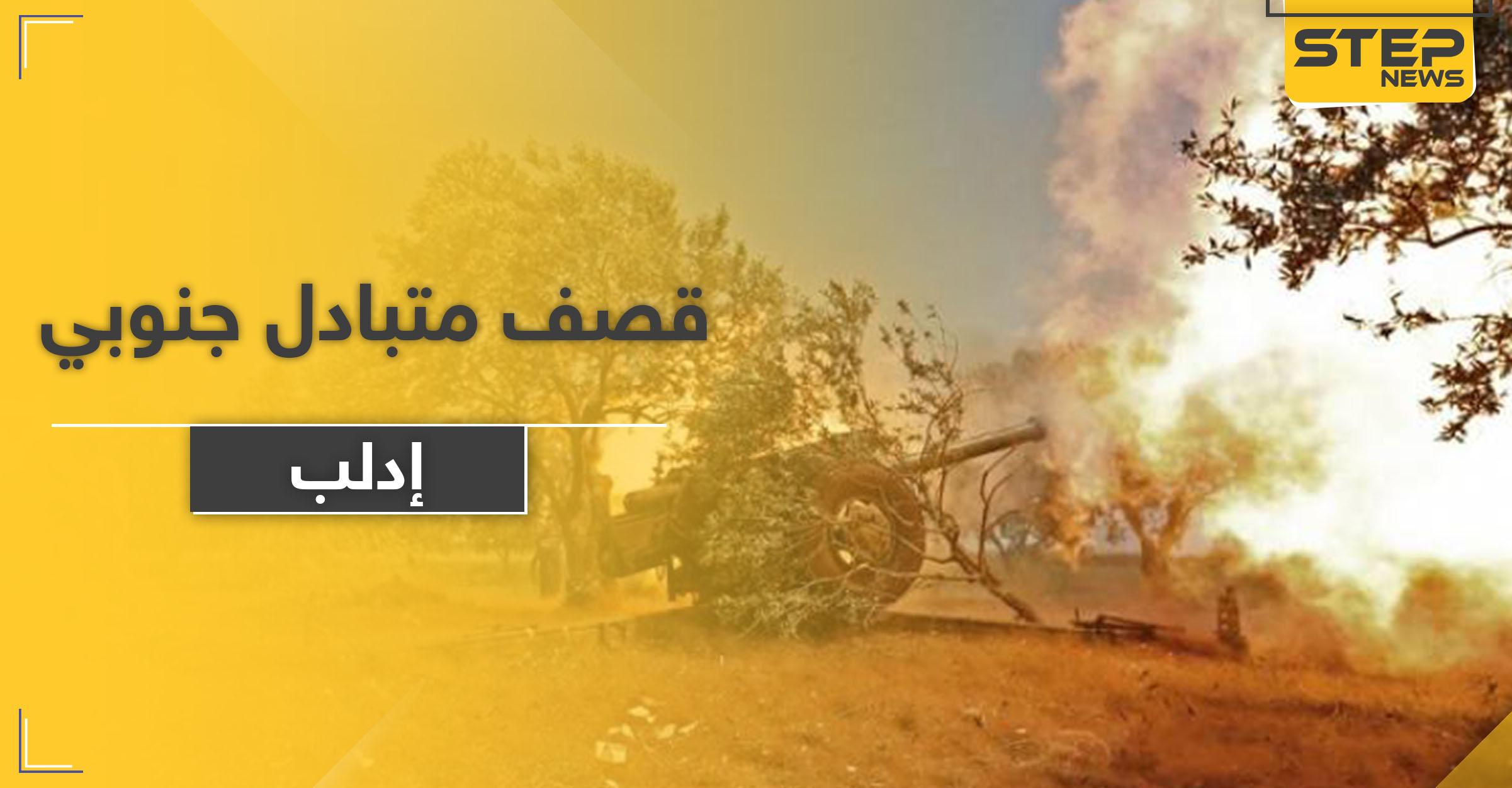 الفتح المبين تقصف مواقع النظام السوري في ريف إدلب الجنوبي