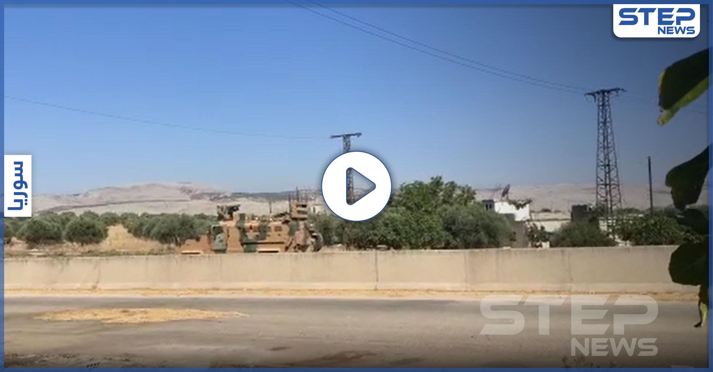 أول دورية تركية روسية مشتركة تصل مناطق سيطرة النظام السوري