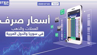أسعار الذهب والعملات للدول العربية وتركيا اليوم الجمعة الموافق 03 تموز 2020