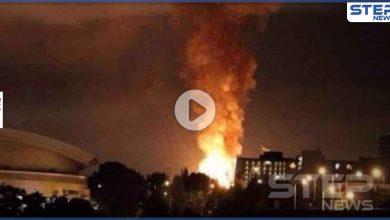 بالفيديو|| حريق مخيف.. شهدته مدينة شيراز الإيرانية وسط عجز عن معرفة الأسباب