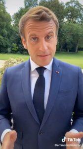 بالفيديو|| عدوى تيك توك تصل لرؤساء الدول.. إيمانويل ماكرون أول المستخدمين