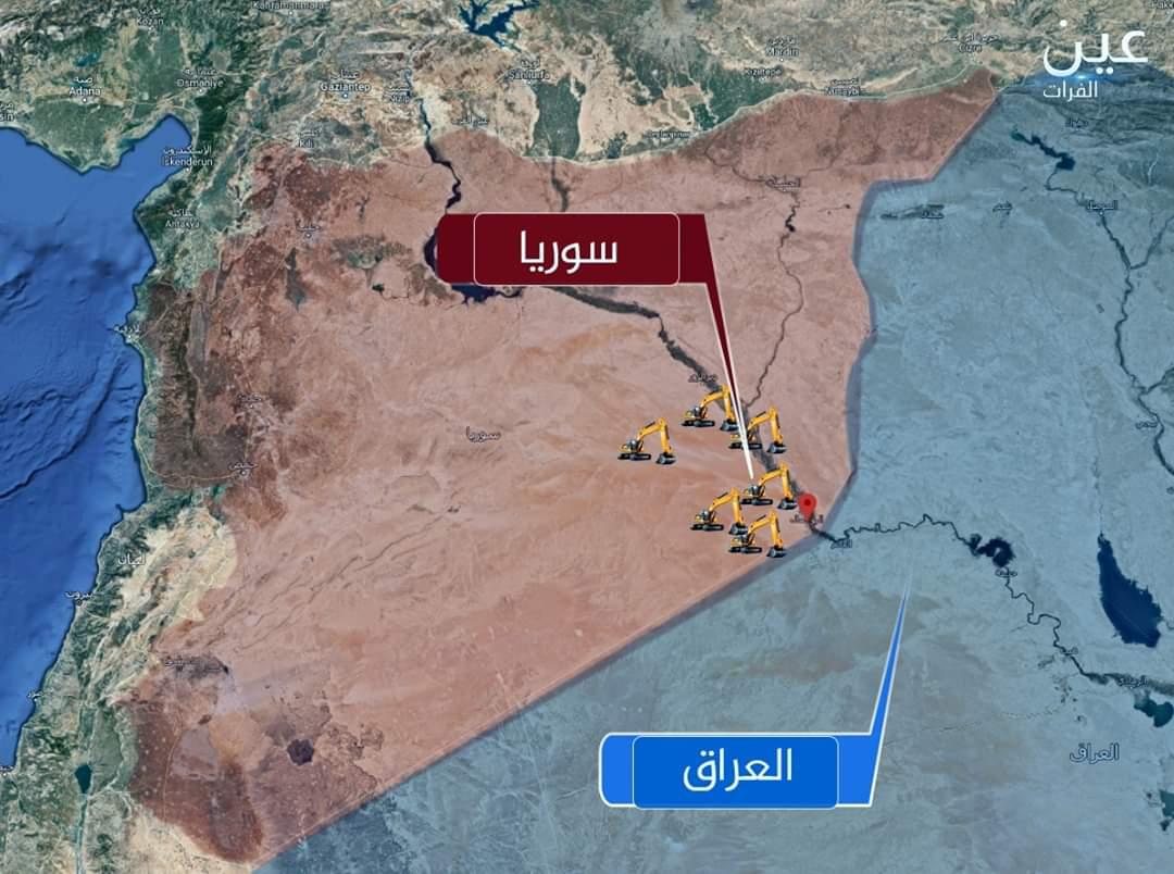 بالفيديو والخرائط   أنفاق ومستودعات صواريخ سرية لإيران في البوكمال و الميادين شرقي دير الزور