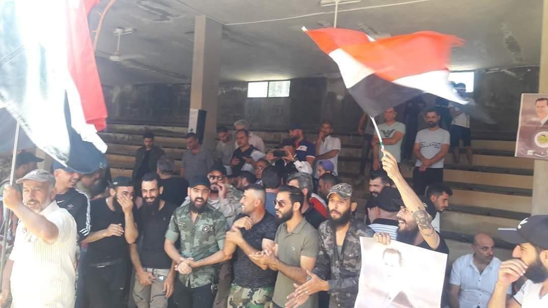النظام السوري يجري تسوية أمنية مع عصابة