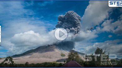 بالفيديو   بركان إندونيسيا المدمر.. يعود للثوران من جديد وينفث أعمدة دخان بارتفاع 5 ألاف متر