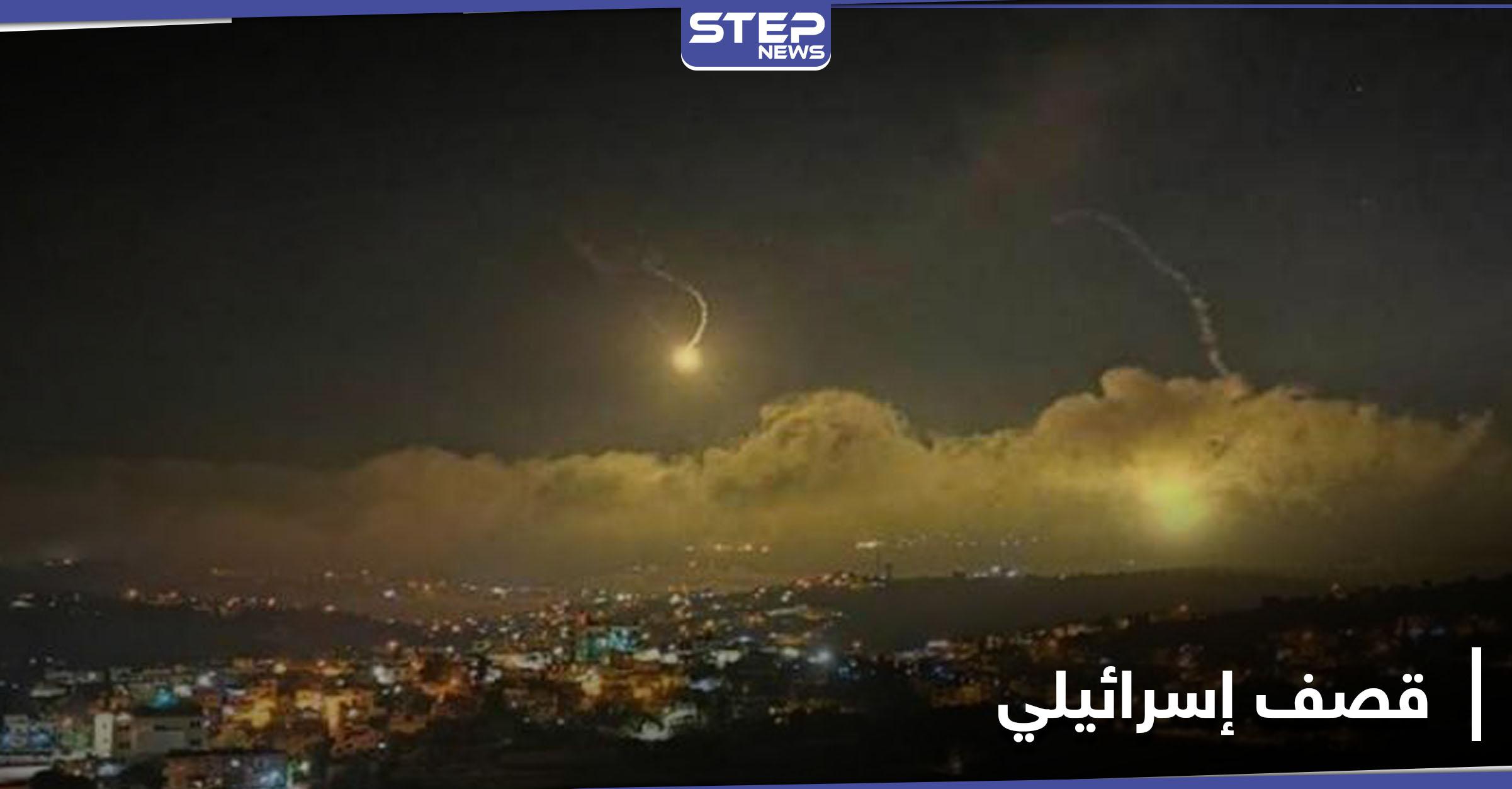 اسرائيل تقصف حزب الله اللبناني