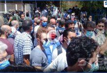 بالفيديو|| مشاجرة واعتداء على النساء توقف مركز لفحص كورونا في دمشق.. والأخيرة تودع عراب جراحتها العصبية