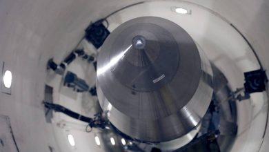 أمريكا تختبر صاروخا باليستيا عابرا للقارات (فيديو)