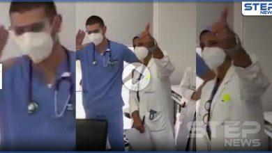 بالفيديو|| بعد 3 أسابيع من انفجار بيروت.. سيدة ترقص مع الأطباء بعد أن استيقظت من غيبوبتها