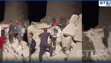 بالفيديو|| انهيار مبنى سكني في مدينة حلب وأنباء عن مصرع 4 أشخاص