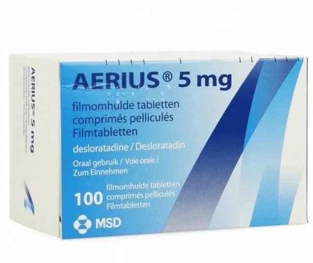 دواء aerius لعلاج حساسية الأنف