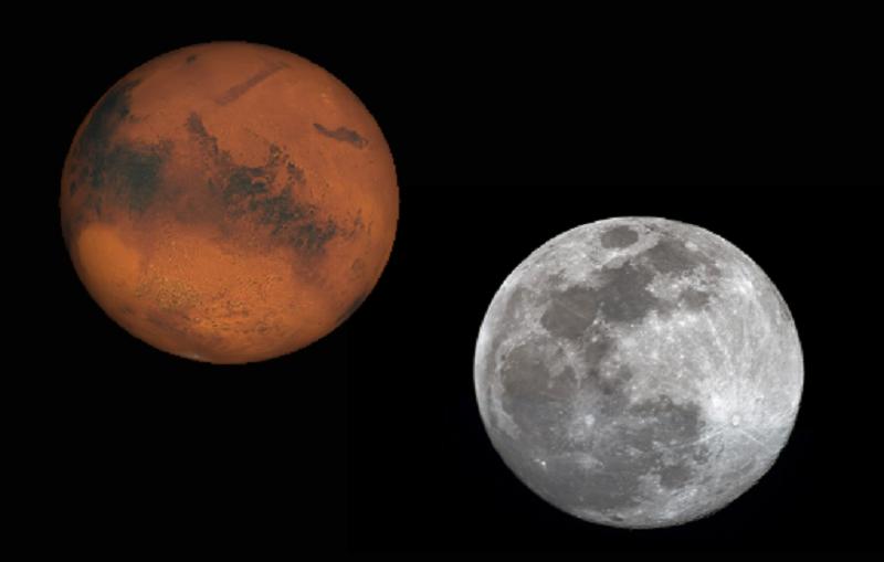 ستراه بالعين المجردة.. المريخ أقرب إلى الأرض وأكثر وضوحًا هذا الأسبوع