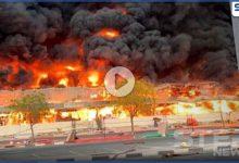 بالفيديو    حريق هائل في إمارة عجمان.. والدفاع المدني يشير لاحتمالية تطوره