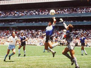 argentina v england 86