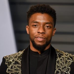 chadwick boseman attends the 2018 vanity fair oscar party hosted by radhika jones arrivals at wallis annenberg center for the performing arts on march 4 2018 in beverly hills ca photo by presley ann