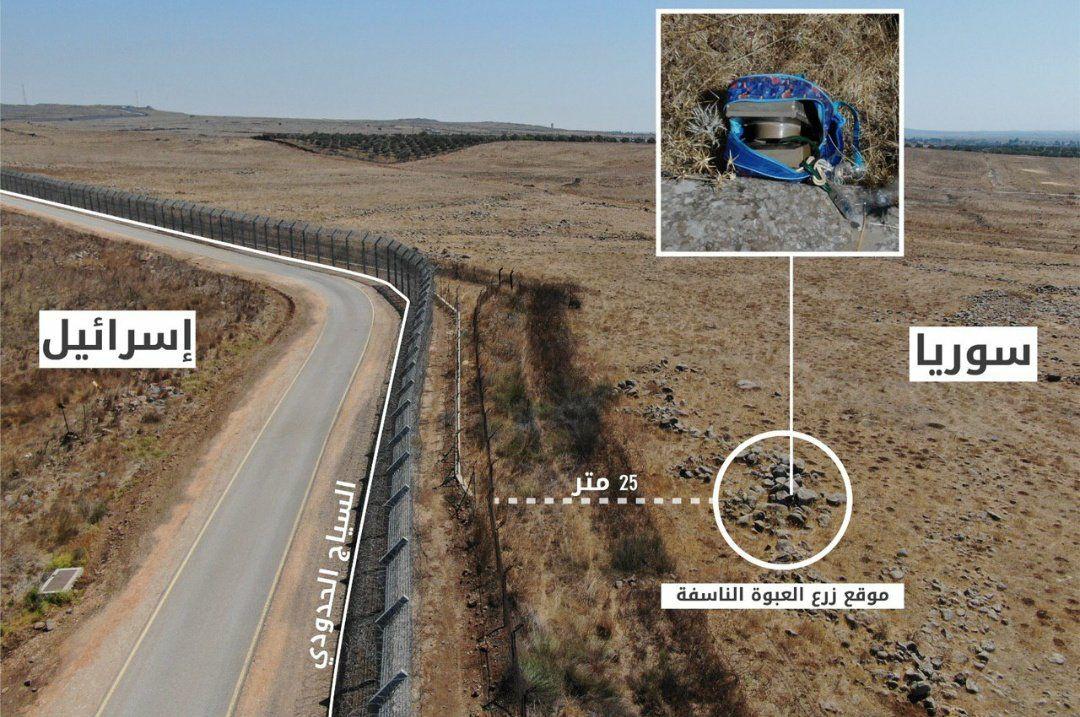 الطائرات الإسرائيلية تستهدف مواقع للنظام السوري في القنيطرة ومصدر يكشف تفاصيل عملية زرع العبوات (صور)