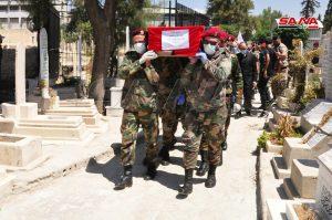 بالفيديو|| ميليشيا جيش التحرير الفلسطيني تدفن قائدها طارق الخضراء بدمشق.. وكورونا يطيح بشخصية أخرى بصفوفها