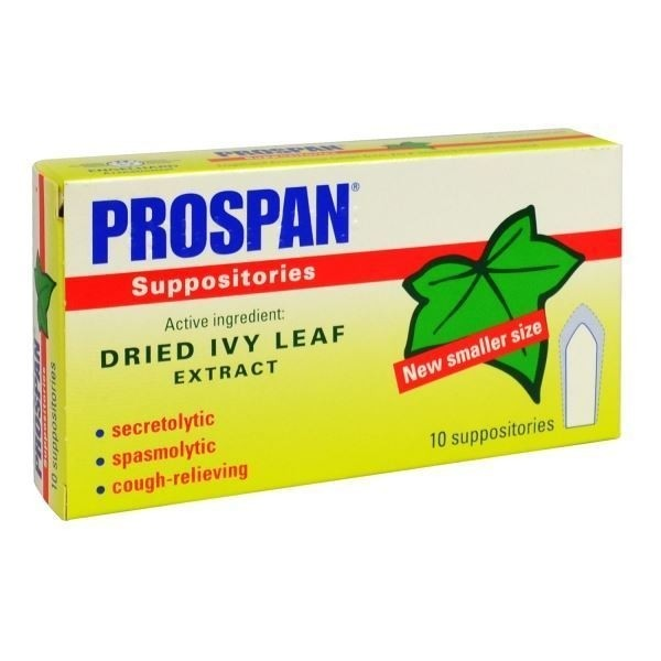 prospan cough 10 supp.