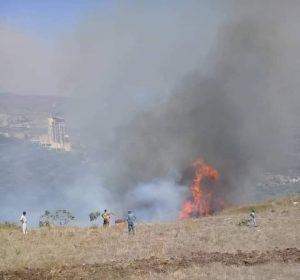 بالفيديو   4 حرائق في سوريا تطال مواقع مختلفة.. أحدهم افتعلته إسرائيل وآخر سببه النظام السوري