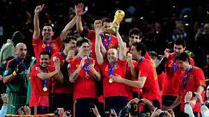 المنتخب الإسباني الفائز بكأس العالم 2010
