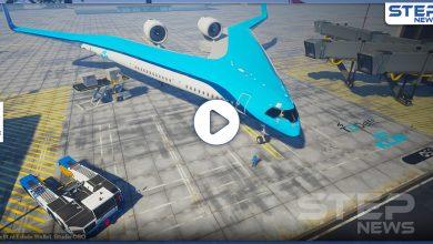 التجارب الأولى على طائرة V ذات الشكل الغريب (فيديو)