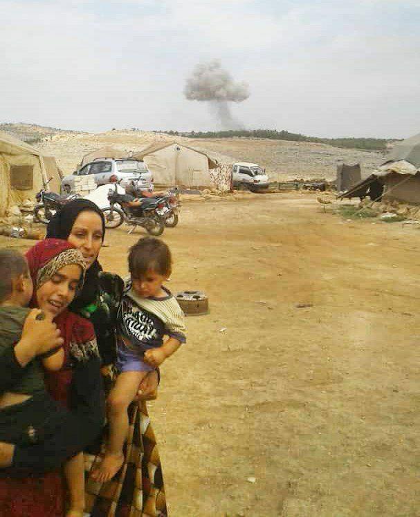 الطيران الروسي يصعّد من قصفه على ريف إدلب الغربي