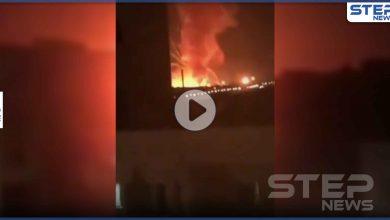 بالفيديو|| قصف إسرائيلي يدمر مستودعات سلاح إيرانية شرق حلب ومصادر تكشف الخسائر