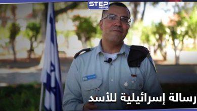 المتحدث باسم الجيش الإسرائيلي يرسل رسالة إلى بشار الأسد.. إليك مضمونها