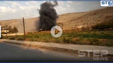 بالفيديو|| جرحى من الجيش التركي بقصف صاروخي للنظام السوري على قاعدة تركية غرب حلب
