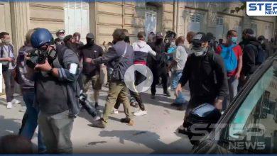 بالفيديو || ما بين فرنسا واليونان.. الغاز المسيل للدموع في مواجهة المهاجرين والمحتجين
