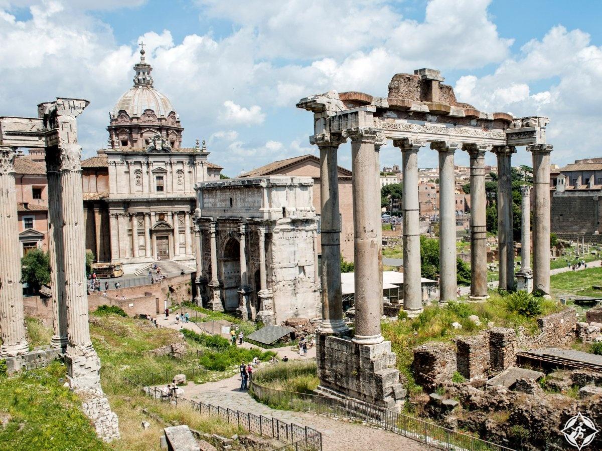 السياحة في روما - المنتدى الروماني